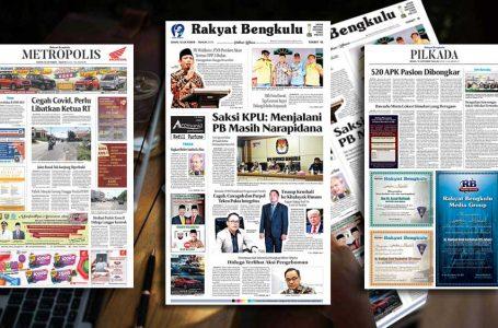 Rakyat Bengkulu 10 Oktober 2020