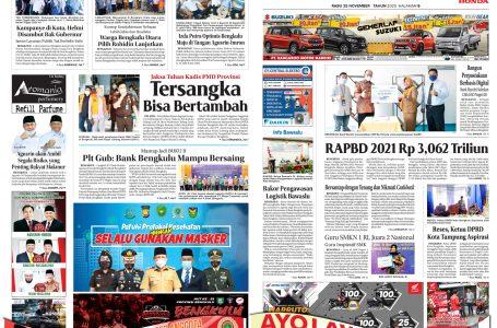 Rakyat Bengkulu 25 November 2020