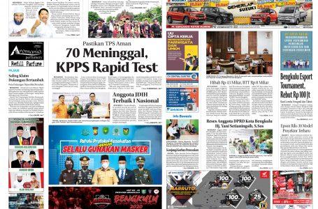 Rakyat Bengkulu 27 November 2020