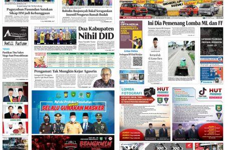 Rakyat Bengkulu 28 November 2020