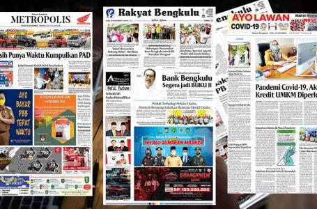 Rakyat Bengkulu 18 November 2020