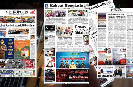 Rakyat Bengkulu 20 November 2020