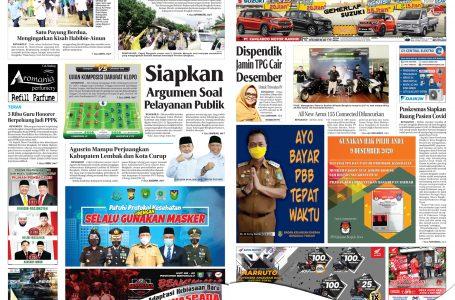 Rakyat Bengkulu 22 November 2020