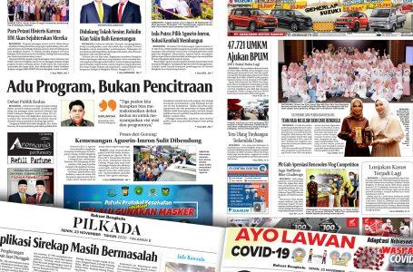 Rakyat Bengkulu 23 November 2020