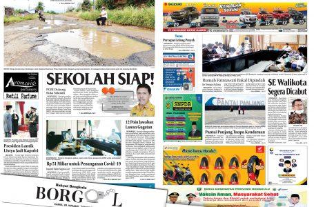 Rakyat Bengkulu 28 Januari 2021