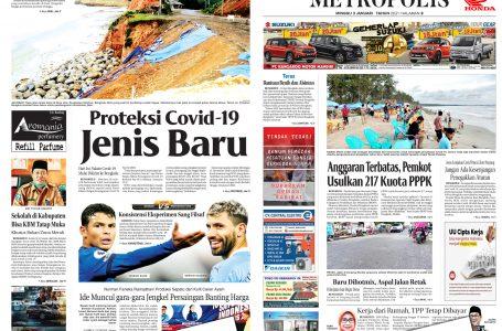 Rakyat Bengkulu 3 Januari 2021