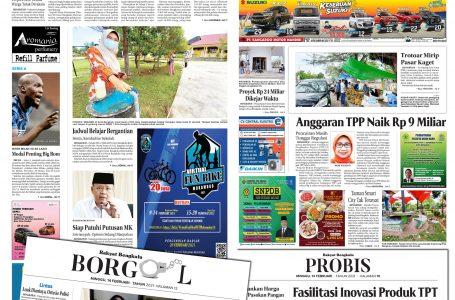Rakyat Bengkulu 14 Februari 2021