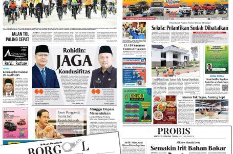 Rakyat Bengkulu 13 Februari 2021