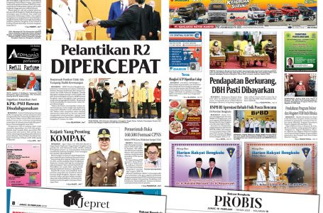 Rakyat Bengkulu 19 Februari 2021