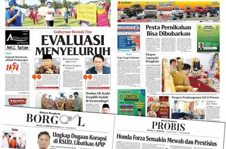Rakyat Bengkulu 9 Februari 2021