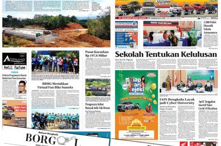 Rakyat Bengkulu 29 Maret 2021