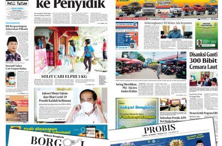 Rakyat Bengkulu 13 Maret 2021
