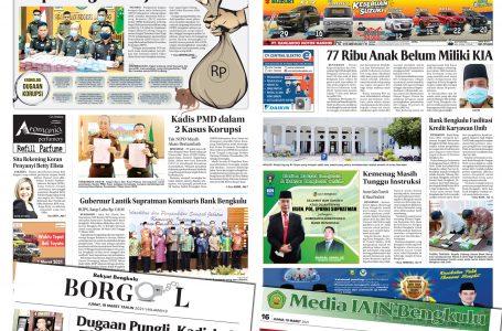 Rakyat Bengkulu 19 Maret 2021