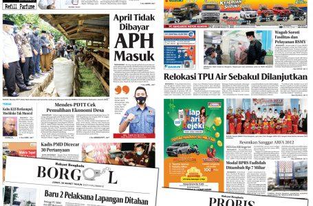 Rakyat Bengkulu 26 Maret 2021