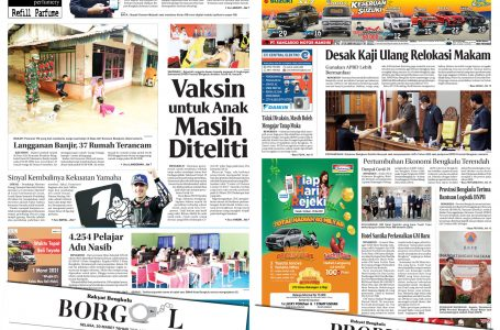 Rakyat Bengkulu 30 Maret 2021