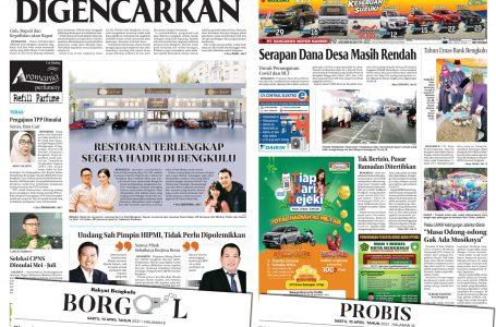 Rakyat Bengkulu 10 April 2021