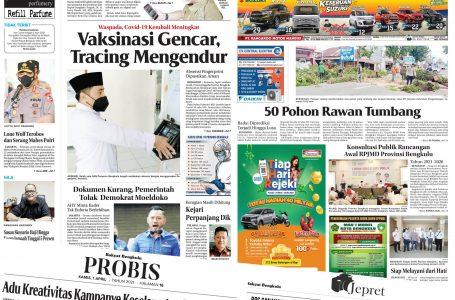 Rakyat Bengkulu 1 April 2021