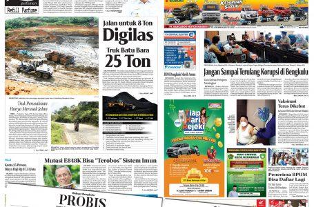 Rakyat Bengkulu 7 April 2021