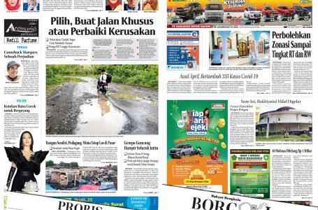 Rakyat Bengkulu 12 April 2021