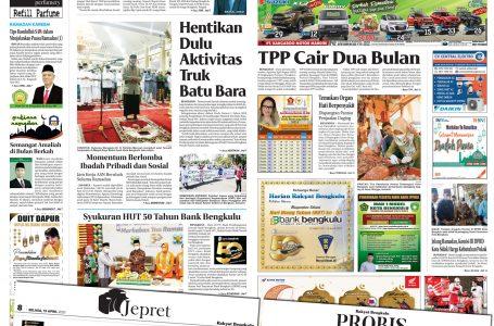 Rakyat Bengkulu 13 April 2021