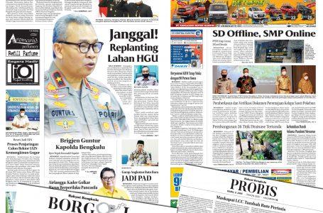 Rakyat Bengkulu 2 Juni 2021