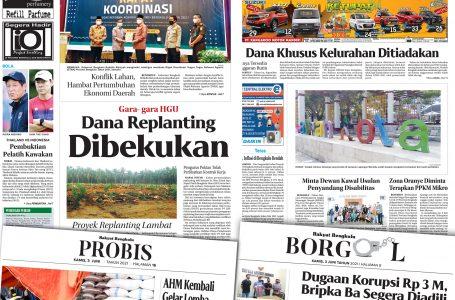 Rakyat Bengkulu 3 Juni 2021