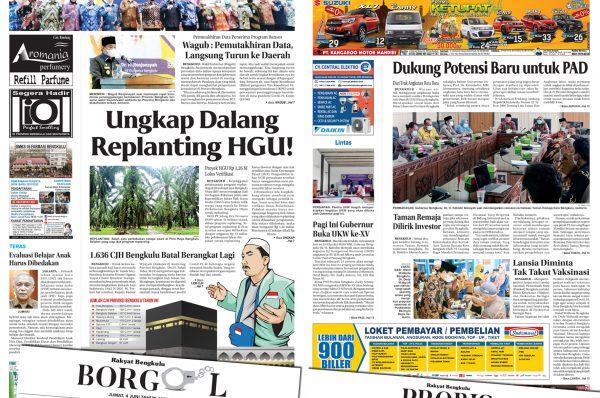 Rakyat Bengkulu 4 Juni 2021