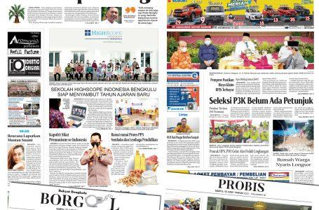 Rakyat Bengkulu 12 Juni 2021