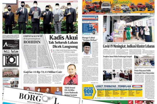 Rakyat Bengkulu 5 Juni 2021