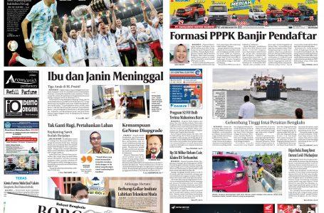 Rakyat Bengkulu 12 juli 2021