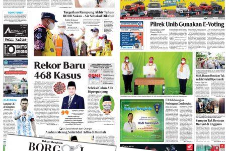 Rakyat Bengkulu 19 Juli 2021