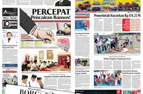 Rakyat Bengkulu 21 Juli 2021