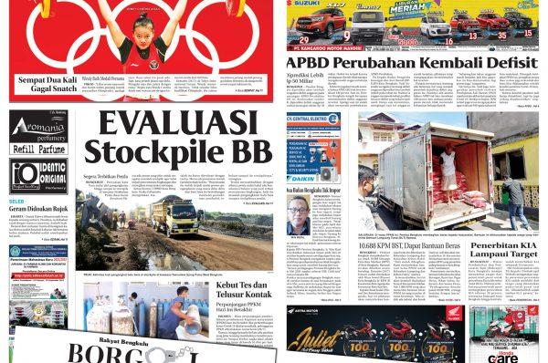 Rakyat Bengkulu 25 Juli 2021