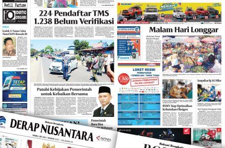 Rakyat Bengkulu 28 Juli 2021