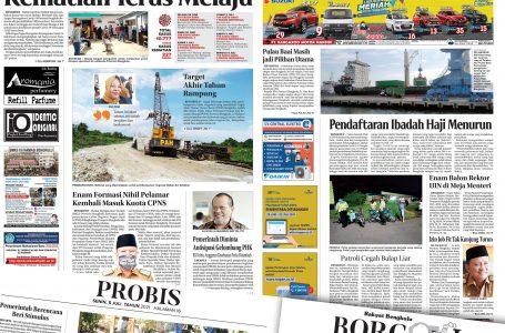 Rakyat Bengkulu 5 Juli 2021