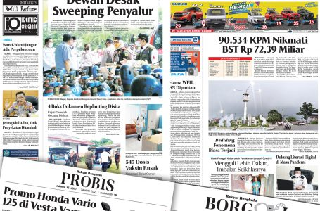 Rakyat Bengkulu 15 Juli 2021