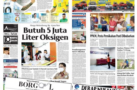 Rakyat Bengkulu 10 Juli 2021