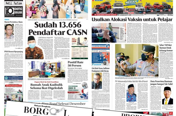 Rakyat Bengkulu 17 Juli 2021
