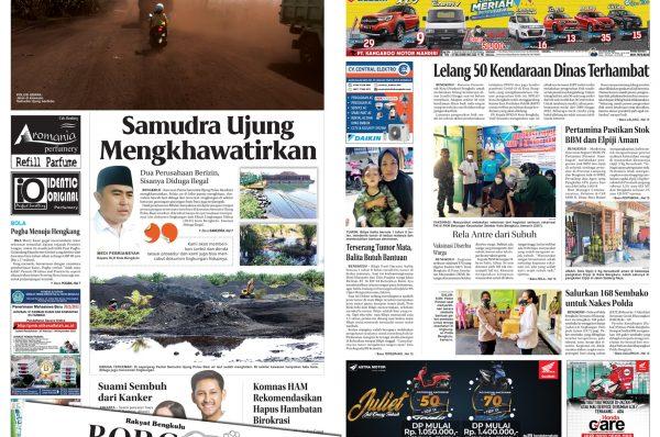 Rakyat Bengkulu 24 Juli 2021