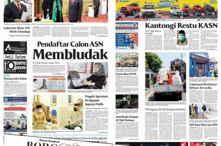 Rakyat Bengkulu 13 Juli 2021