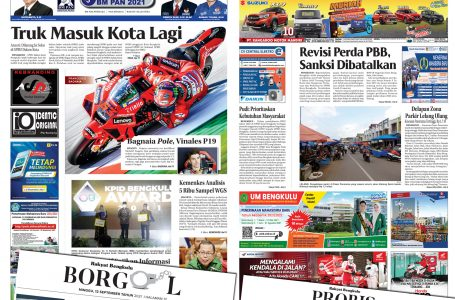 Rakyat Bengkulu 12 September 2021