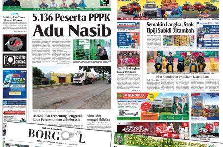Rakyat Bengkulu 13 September 2021