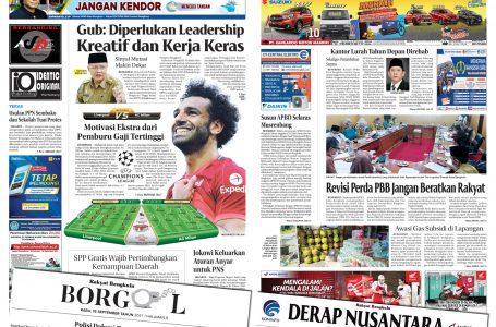 Rakyat Bengkulu 15 September 2021