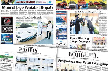 Rakyat Bengkulu 16 September 2021