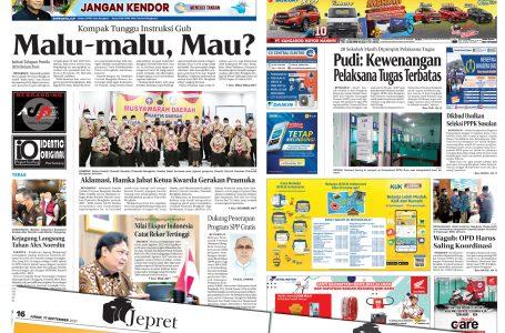 Rakyat Bengkulu 17 September 2021