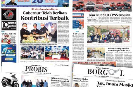 Rakyat Bengkulu 2 September 2021