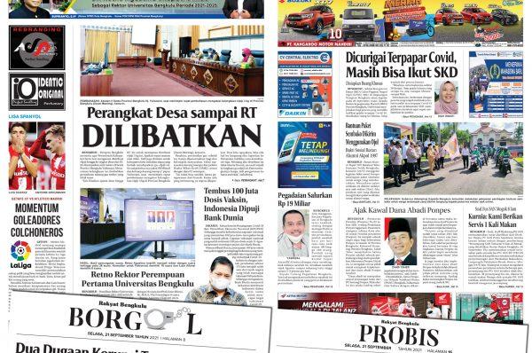 Rakyat Bengkulu 21 September 2021