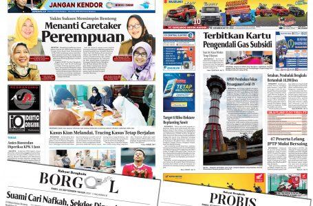 Rakyat Bengkulu 22 September 2021