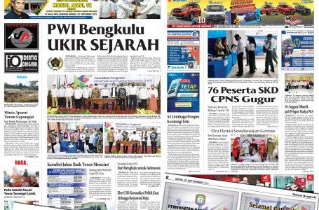 Rakyat Bengkulu 27 September 2021