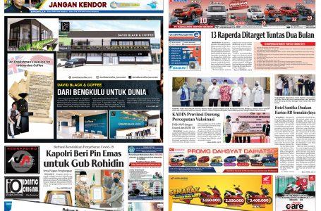 Rakyat Bengkulu 3 September 2021